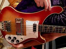 Zero Mod Thumb Rest / Tug Bar for Rickenbacker  4001 Bass - NO Modifications