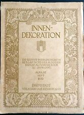 Intérieur-Décoration Aug 1930 Modernist Interior Design Architecture Chermayeff