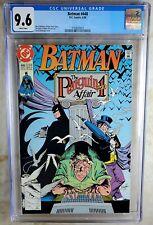 Batman #448 The Penguin Affair D.C. DC 1990 CGC 9.6 NM+ White Pages Comic U0088