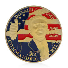 The United States 45th President Donald Trump Commemorative Challenge Coin Gift