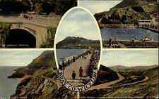 Great Britain Postcard color más imagen-ak ~ 1960/70 Bray Co Wicklow postal
