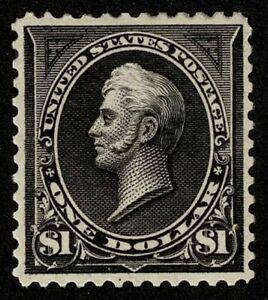 Scott#276 $1 Oliver Hazard Perry Type I 1895 Mint H OG Well Centered