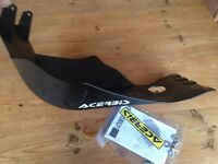 ACERBIS SKID GLIDE PLATE SUMP GUARD FITS KTM EXC- F 450  530  2008-2011  BLACK