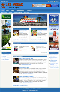 LAS VEGAS GUIDE - Professionally Designed Affiliate Website - Free Installation