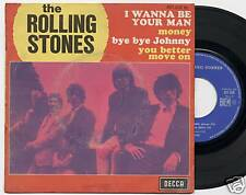 """ROLLING STONES """"I WANNA BE YOUR MAN"""" EP FR 1970 RARE"""