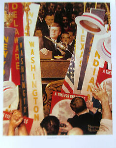 Norman Rockwell A Time for Greatness 14x11 Offset Lithograph Unsigned