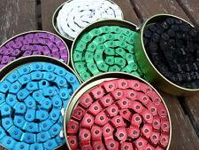 "Gusset Slink BMX Bike Chain (6 Colours) 1/8"" (NEW) Half Link Old New School"