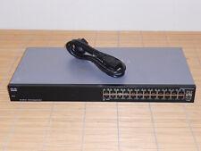 Cisco SR2024T Switch 24x 10/100/1000 RJ-45 ports 2x SFP Ports SG100-24