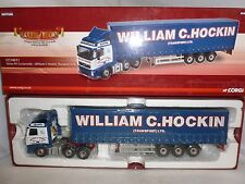 CORGI DIECAST HAULIERS OF RENOWN CC14011 VOLVO FH CURTAINSIDE WILLIAM C HOCKIN
