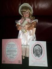 "Yolanda Bello/Ashton Drake ""Mary Had a Little Lamb"" Mother Goose Porcelain Doll"