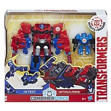Transformers Robots In Disguise Combiner Force Activator OPTIMUS PRIME & HI-TEST