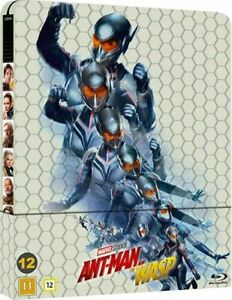 ANT-MAN & THE WASP  Blu ray Steelbook ( NEW ) REGION FREE
