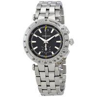 Versace V-Race Black Dial Mens Watch VAH01 0016
