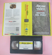 VHS film MISTERI DEL PERU' airone video 1991 STARLIGHT AIV 3040 40 (F171) no dvd
