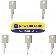 5 New Holland Skid Steer Tractor Sprayer Combine Harvester Ignition Key 86502201