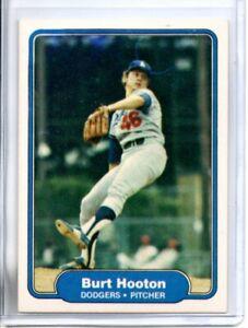 1982 FLEER BURT HOOTON (NM/MT OR BETTER) <<