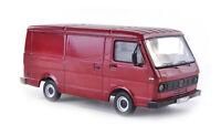 #13301 - Premium ClassiXXs VW LT28 Kasten - dunkel-rot  - 1:43