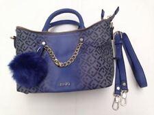 Liu Jo Damen Handtasche S Poppa Kunstleder Blau N65077E0033-93725