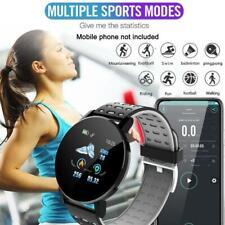 119PLUS Smart Watch Wristband Heart Rate Monitor Pedometer Fitness Sport J6A6