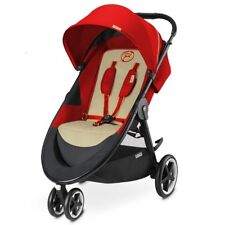 Cybex AGIS M-AIR3 Baby Stroller - Autumn Gold Burnt Red - BRAND NEW UNOPENED BOX