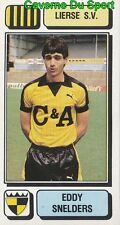 177 EDDY SNELDERS BELGIQUE LIERSE.SV STICKER FOOTBALL 1983 PANINI