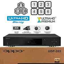 OPPO DIGITAL UDP-203 REGION FREE 4K ULTRA HD UHD HDR 3D BLU-RAY DVD PLAYER NEW