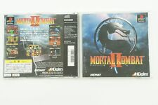 Mortal Kombat 2 II PS1 Acclaim Sony Playstation 1 From Japan