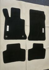 Fit For 09-13 Mercedes GLK Floor Mats Carpet Front Rear Black Nylon W/Emblem