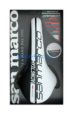 Selle San Marco Concor Carbon FX Racing Team Saddle Black White New