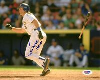 PAUL MOLITOR SIGNED AUTOGRAPHED 8x10 PHOTO + HOF 04 MILWAUKEE BREWERS PSA/DNA