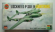 Lockheed P-38 F/H Lightning 1/72 Airfix 02088  Rare!