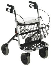 Invacare Banjo 4 Wheel Silver Rollator With Basket 1452442