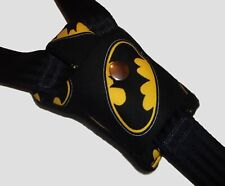 Batman Fabric Buckle Strap Car Seat Pram Highchair Harness Cover Belt Pad NEW