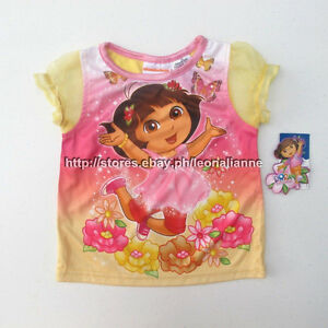 67% OFF! AUTH DORA GIRL'S SOFT TULLE SLEEVES TOP 24 MOS BNEW SRP US$ 5.97