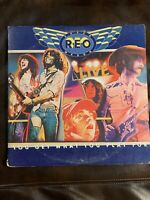REO Speedwagon - Live-You Get What You Play For - Epic 2LP PEG 34494 OG '77 Live