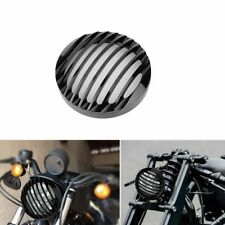 5.75 INCH Black Prison Grill Headlight Cover custom for Harley motorcycle Part