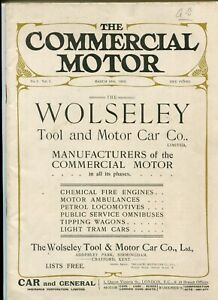 The Commercial Motor No 1 1905 UK