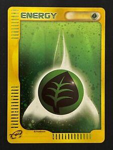 Pokemon Card ENERGIA FOGLIA HOLO PROMO MCDONALD 2002 JAPANESE (27)