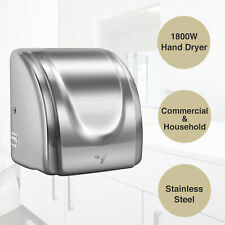 1800W High Speed Electric Auto Hand Dryer Commercial and Household Use