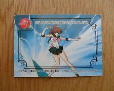 Sailor moon R card from sailor Jupiter Bandai doll 1995 old box inner senshi