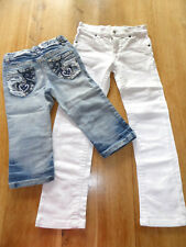 2 Sommerjeans im Paket Gr.128/134 here&there C&A