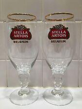Pair of Stella Artois 33cl Glasses!!!