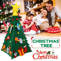 Handmade 3D DIY Christmas Tree Cloth New Year Kids Gift Toys Xmas Decor
