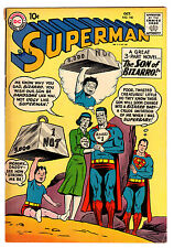 SUPERMAN #140 5.0 TAN PAGES SILVER AGE