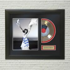 """Stevie Nicks """"Leather & Lace"""" Framed Reproduction Signature 45 Display. """"M4"""""""