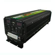 LCD 5000Watt 10000W(Peak) 12/24V To 220V 60Hz UPS Power Inverter For Solar/Wind