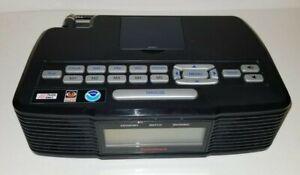 Radio Shack 12-519 AM/FM/WX NOAA SAME Weather Alert Clock Radio