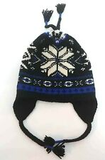 Polo Ralph Lauren Mens Cable Knit Wool Fair Isle Cool Hat Beanie One Size