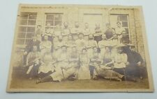 Original Edwardian Clarks Shoe Factory Kilmarnock Workers Photograph Card #2