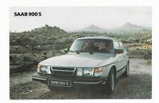 SAAB 900S, Dealership Postcard
